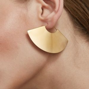 New Ivanna Fan Dangle Earrings